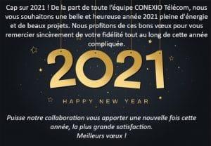 Cap sur 2021 !